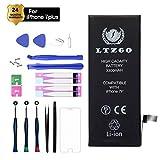 LTZGO Batterie Haut Capacité Interne Compatible pour iPhone 7 Plus 3300mAh Batterie Lithium-ION Rechargeable avec Kits d'outil de Réparation Adhésives Manuel en Francais