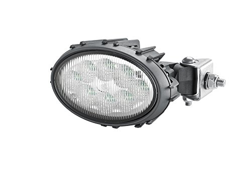 Hella 1GA 996 661-031 Arbeitsscheinwerfer - Oval 100 Thermo Pro - LED - 12V/24V - 1700lm - Anbau - Nahfeldausleuchtung - Deutsch