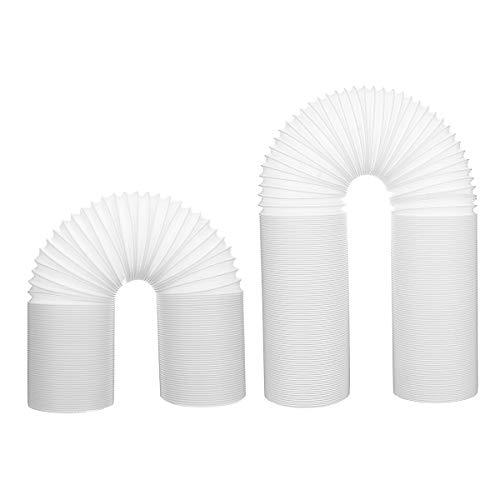 TuToy 2M/3M flexibele uitlaat slang buis mobiele airconditioner venster ventilatiepijp 13Cm Dia, 2M, 1