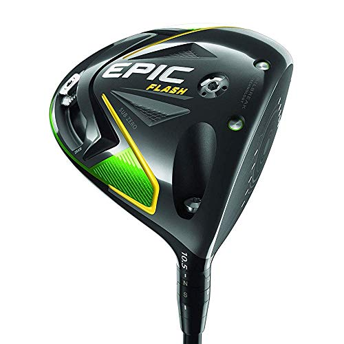 Callaway Golf 2019 Epic Flash Sub Zero Driver, Right Hand, Project X Even Flow Green, 50G, Light Flex, 10.5 Degrees