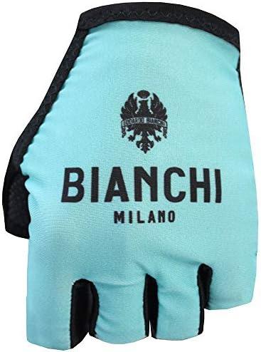 XL Black Bianchi Milano Unisexs Divor1 Cycling Mitts