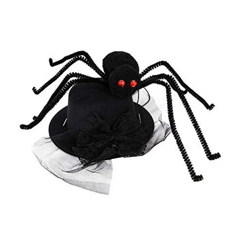 Balacoo - Disfraz de gato para Halloween, disfraz para mascotas, disfraz, disfraz de araña, sombrero para perros, mascotas, gatos