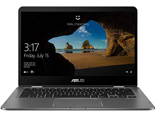 ASUS ZenBook Flip Ultra-Slim - 14in FHD wideview display, Intel Core i7-8550U, 16GB RAM, 512GB NVMe PCIe SSD, Nvidia MX150, Windows 10 Home UX461UN-DS74T (Renewed)