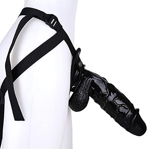 UNCDG 10.24 Inch Plus Size Beginner's Black Strap-on Sling Super Portable Adjustable...