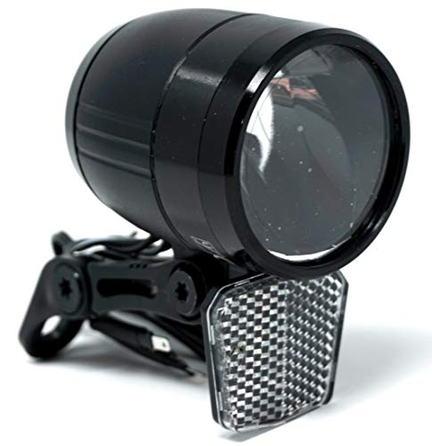 CBK-MS E-Bike Beleuchtung LED Scheinwerfer nach StVZO 100 Lux 6-48 Volt Lampe