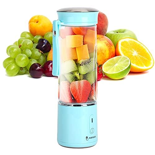 Aoca Mini Tazza per spremiagrumi Portatile da 400 ml, frullatore e frullati, Leggero e Portatile, Macchina per la Frutta