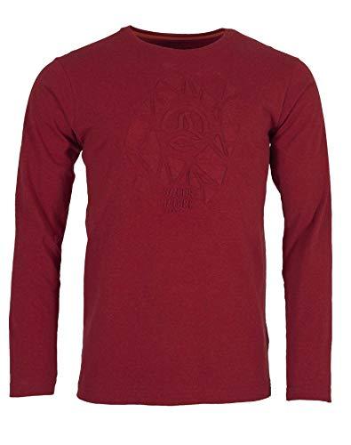 Ternua Gohana T-Shirt à Manches Longues pour Homme Rouge foncé Taille M
