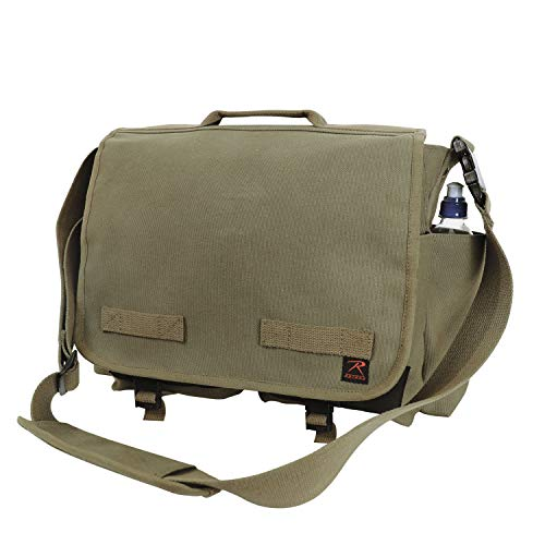 Rothco Concealed Carry Messenger Bag, Olive Drab