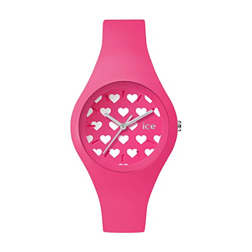 Ice-Watch - ICE love 2016 Pink Heart - Reloj rosa para Mujer con Correa de silicona - 001479 (Small)