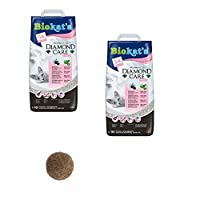 COMPOSE OF CLAY CLUMPING CAT LITTER with a fresh baby powder smell and activated carbon with disinfectant for effective odour binding VIRTUALLY DUST FREE, the fresh granules dont stick to your cats paws so they wont leave a trail of litter behind the...