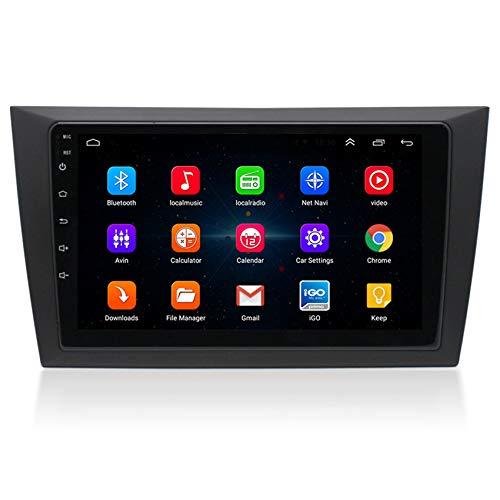 Amimilili Autoradio 2 DIN Bluetooth Vivavoce, Car Radio con Navigatore per Volkswagen Golf 6 2009-2016 Supporta Controllo al Volante USB+ Telecamera di retromarcia,8 cores 4g+WiFi:4+64g