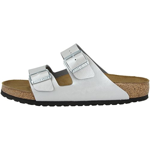 Birkenstock Arizona Graceful Argent Birko-Flor Graceful