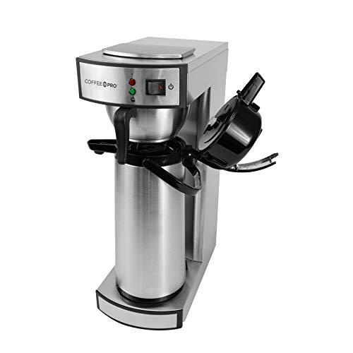 Coffee Pro CP-RLA Commercial Brewer Coffee Maker, Stainless Steel