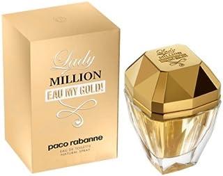 Lady Million Eau My Gold by Paco Rabanne for Women - Eau De Toilette, 80ml