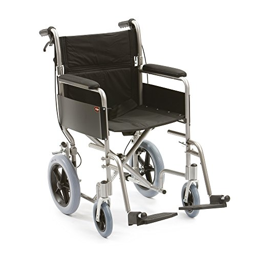 Drive Medical LAWC002 Transport-Rollstuhl aus Aluminium, 46 cm