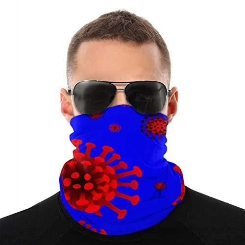ghkfgkfgk Coronavirus Covid Variety Head Sciarpa Bracciali Cappello da Pirata Copricapo Passamontagna per Protezione Solare Contro Il Vento