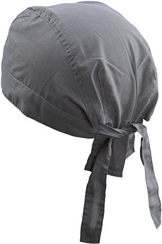 Myrtle Beach Modisches Bandana Kopftuch MB041, Farbe:Dark Grey;Größe:One Size one size,Dark Grey