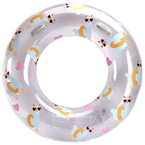Alert Schwimmreifen Alpaca Lama Luftmatratze Schwimmring 119cm Wasser Reifen