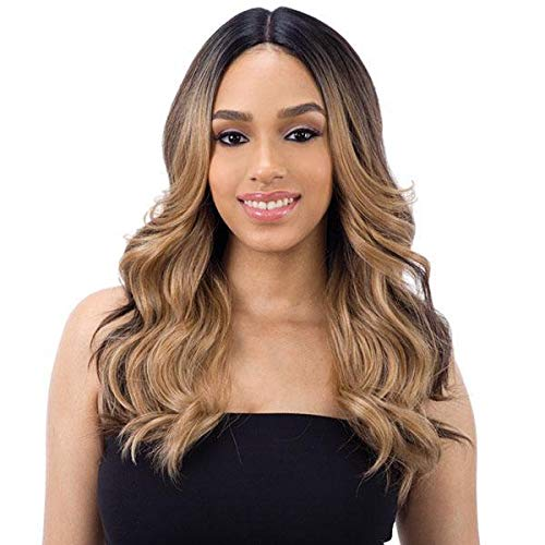 """FreeTress Equal Synthetic Hair Wig Lace 5"""" Deep Part Lace Valentino (FFCREAM)"""