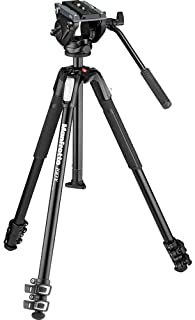 Best Manfrotto MVH500AH Fluid Video Head with MT190X3 Tripod Review