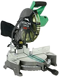 Hitachi C10FCH2 15-Amp 10-inch Single Bevel Compound Miter Saw with Laser Marker