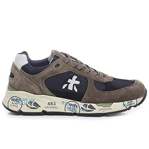 Premiata - Zapatillas de hombre Mase 4982 marrón y azul - Mase VAR4982 - Talla Marrón Size: 42 EU