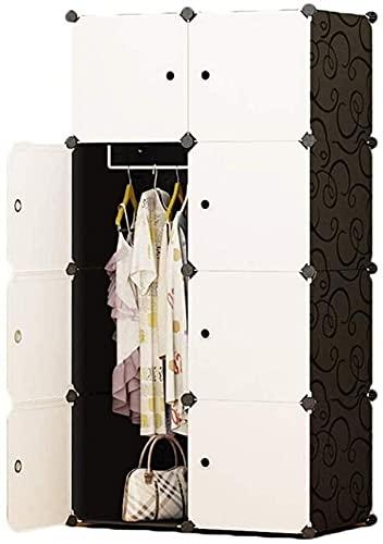 Armadio Camera da Letto Camera Portatile Polyresin Storage Organizzatore Scaffale Scaffale Abbigliamento Abbigliamento UOMUN