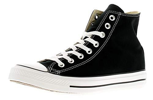 Converse Chuck Taylor All Star High Top Sneaker, Black, 6.5 Women/4.5 Men