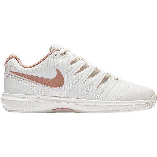 Nike Damen W Air Zoom Prestige Cly Tennisschuhe, Mehrfarbig (Phantom/MTLC Red Bronze 066), 40.5 EU