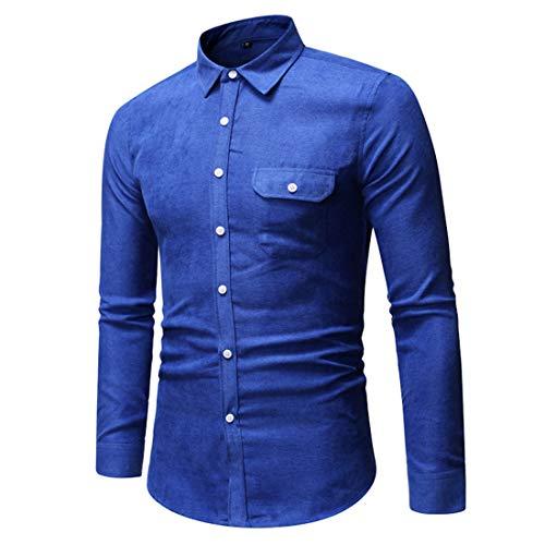 Effen poplin casual overhemd met lange mouwen voor heren Formele overhemden met dubbele manchetten voor heren Normale pasvorm Inclusief manchetknopen