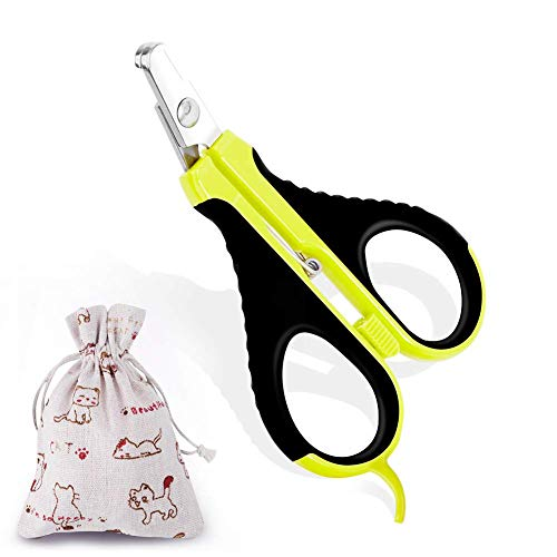 badiJum Cat Nail Clippers and Trimmers - Best Pets Nail Clippers & Claw Cutters for Small Animals - Professional Home Grooming Tool for Puppy Rabbit Birds Tiny Dogs
