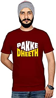 Workshop Graphic Printed T-Shirt for Men & Women | Funny Hindi Quote T-Shirts |Pakke Dheeth Slogan T Shirts | Sarcasm Tshi...