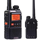 Mini UV-3R+Plus Walkie Talkies Dual Band UHF/VHF Ham CTCSS Two-Way Radio