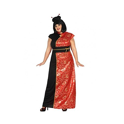 Atosa-17352 Disfraz China, Color Rojo, XL (17352)