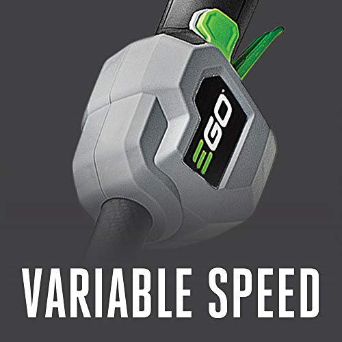 EGO Power+ ST1521S 15-Inch String Trimmer with POWERLOAD and Carbon Fiber Split Shaft 2.5Ah Battery and Charger Included