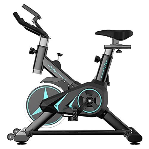 Bicicleta de ejercicio Bicicleta de ciclismo de interior Bicicletas estacionarias, con cojín de asiento cómodo ajustable y resistencia, Volante de inercia Bicicleta de fitness para gimnasio Bicicletas