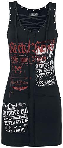 Rock Rebel by EMP Stay A Little Longer Vestido Corto Negro M