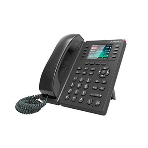 Teléfono fijo con cable, teléfono con botones grandes, teléfonos fijos Pantalla a color Teléfono inalámbrico para oficina Teléfono fijo IP Teléfono inalámbrico 8 cuentas Sip Soporte WIFI Teléfono IP