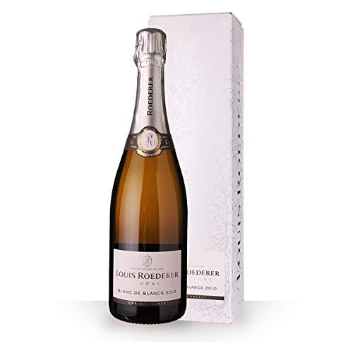 Louis Roederer Champagne Blanc de Blancs Brut 2013 Grafik Geschenkverpackung Champagner (1 x 0.75 l)