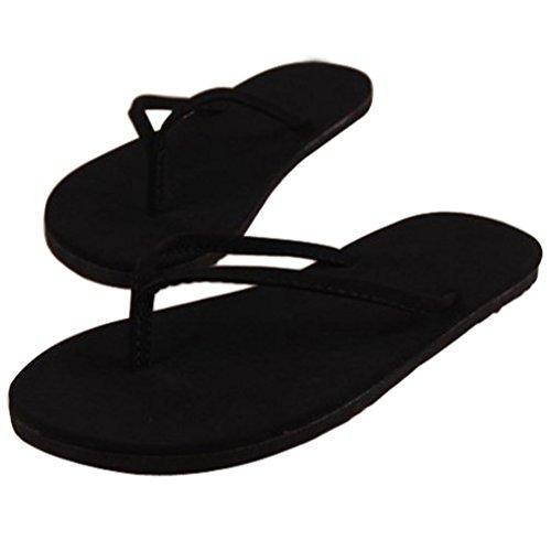 OHQ Sandalias De Mujer Sra. Chanclas Planas Café Negro Chanclas De Verano para Mujeres Zapatos Sandalias Zapatillas De Interior Y Exterior Chanclas Sandalias Romanas Elegante Barato (39, Negro#3)