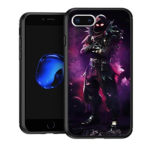Non-Slip Soft Silicone Bumper Black Cases Anti-Scratch Motion for iPhone 7/8/SE 2020 Cover Night Skin Epici