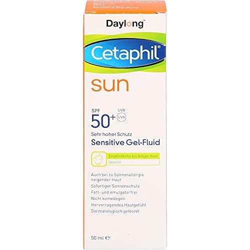 Cetaphil sun Daylong 50+ Sensitive Gel-Fluid Gesicht, 50 ml Gel