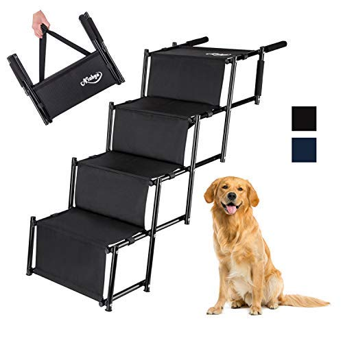 Niubya Folding Car Dog Stairs