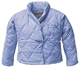 Warm Things Quilted Down Bed Jacket Bluette/XL (20-22)