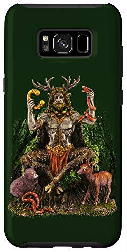 Galaxy S8+ Cernunnos Celtic God Forest Scene Case