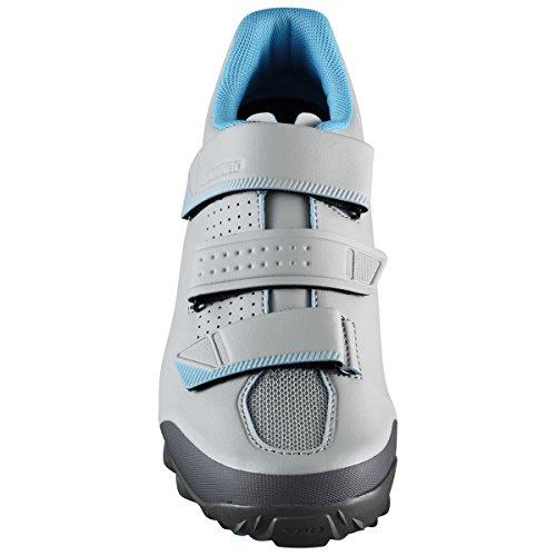 SHIMANO Zapatillas Zapatillas SH M MTB ME200 Gris/Azul T43 - Zapatillas, Unisex Adulto, Gris -(Gris/Azul)