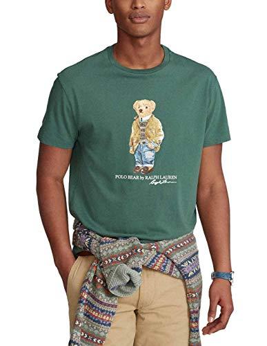 Polo Ralph Lauren Mod. 710835761 Camiseta Cuello Redondo Teddy Bear Custom Slim...