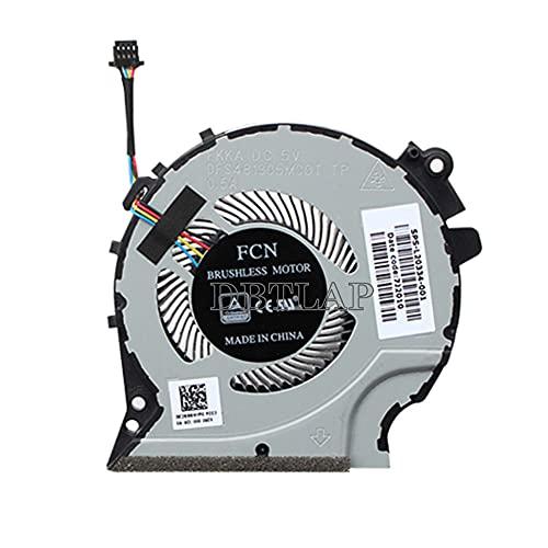 DBTLAP Nuevo Portátil Ventilador para HP Pac Gaming 4 Green Blade Pavilion 15-CX 15-CX0061TX CX0062TX Notebook Ventilador