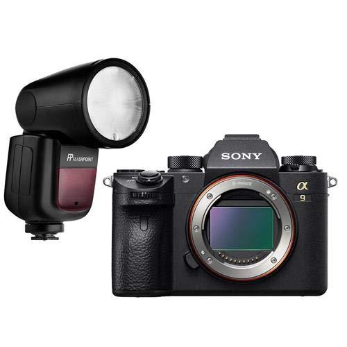 Sony a9 Mirrorless Digital Camera with Flashpoint Zoom Li-On X TTL Speedlight