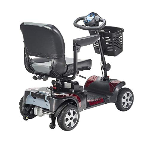 "Phoenix 4 Wheel Heavy Duty Scooter by Drive Medical, 20"" Wide Seat..."